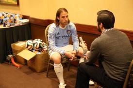 New York City FC's Ned Grabavoy