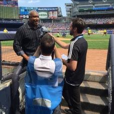 Yankees legend Bernie Williams