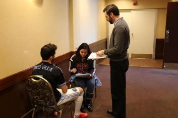 My first interview with David Villa