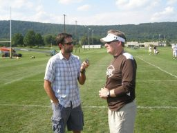 Lehigh University head football coach Andy Coen