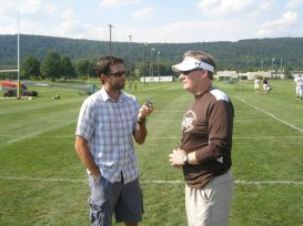 Lehigh University head football coach Andy Coen