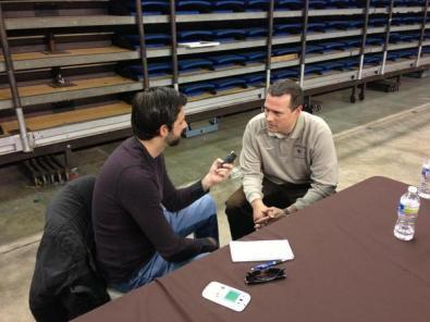 Lehigh University men's basketball coach Brett Reed