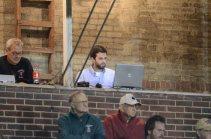 Working hard at legendary Cottingham Stadium