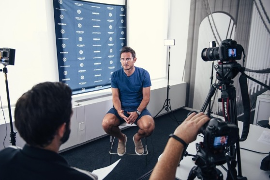 A sit-down interview with Frank Lampard