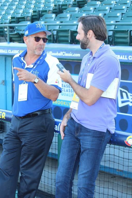 Interviewing Israel baseball's Peter Kurz