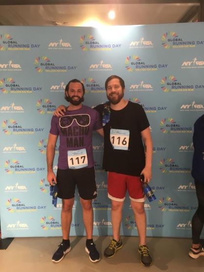 Joining NYRR in celebrating Global Running Day 2017
