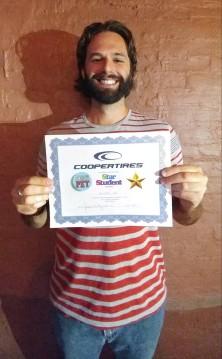 Star Student Award winner