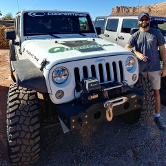 Jeep 4x4 with Cooper Tires in Moab, Utah