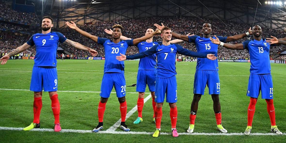 France world cup soccer team photo