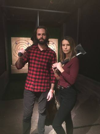 Kick Axe Throwing in NYC