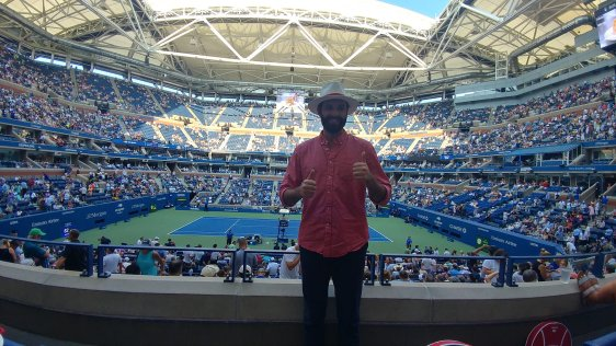 Living the suite life thanks to Emirates at the 2018 US Open