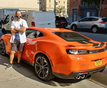 Drove a Camaro to the 2018 MLB All-Star Game in DC