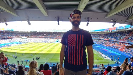At my first World Cup
