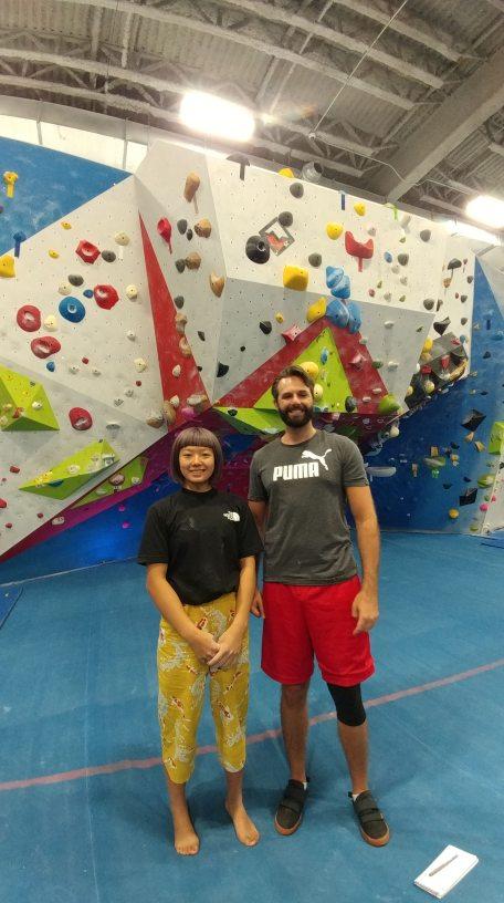 Climbing prodigy Ashima Shiraishi