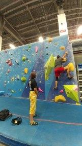 Spent my birthday climbing with Ashima Shiraishi