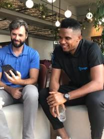 Interviewing Samuel Eto