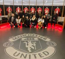 Manchester United locker room
