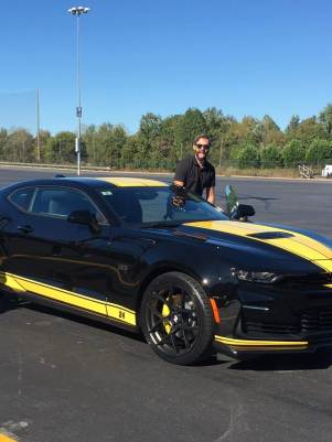 Driving fast cars in Charlotte